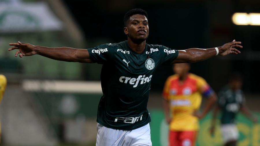Newton Williams, jogador do sub-20 do Palmeiras - Fabio Menotti/Palmeiras