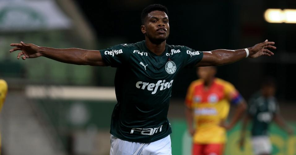 Newton Williams, jogador do sub-20 do Palmeiras