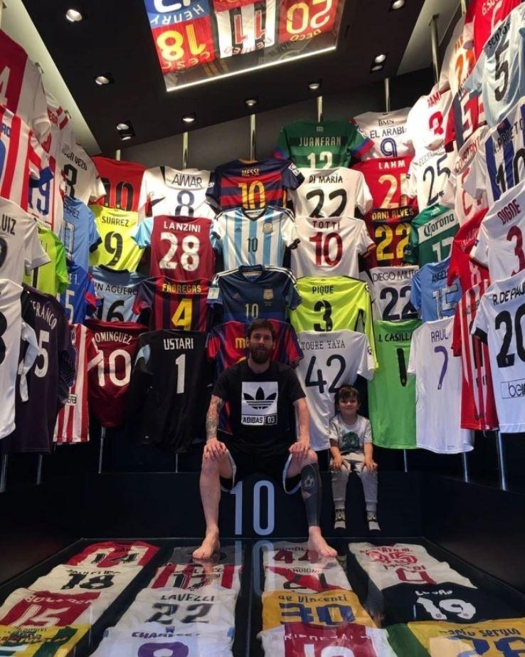 futebol muleke - closet casa lionel messi
