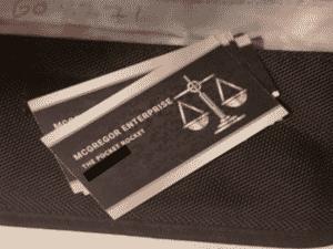 Cartão de visitas traficante - Divulgação / Surrey Police - Divulgação / Surrey Police