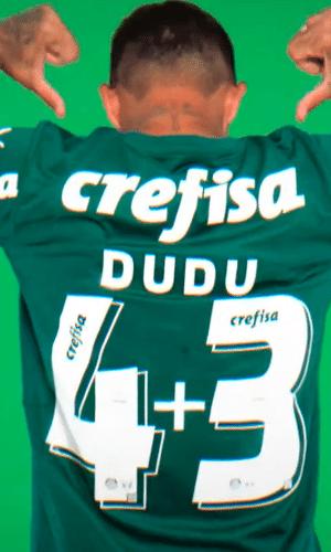 Dudu mostra seu novo número no Palmeiras