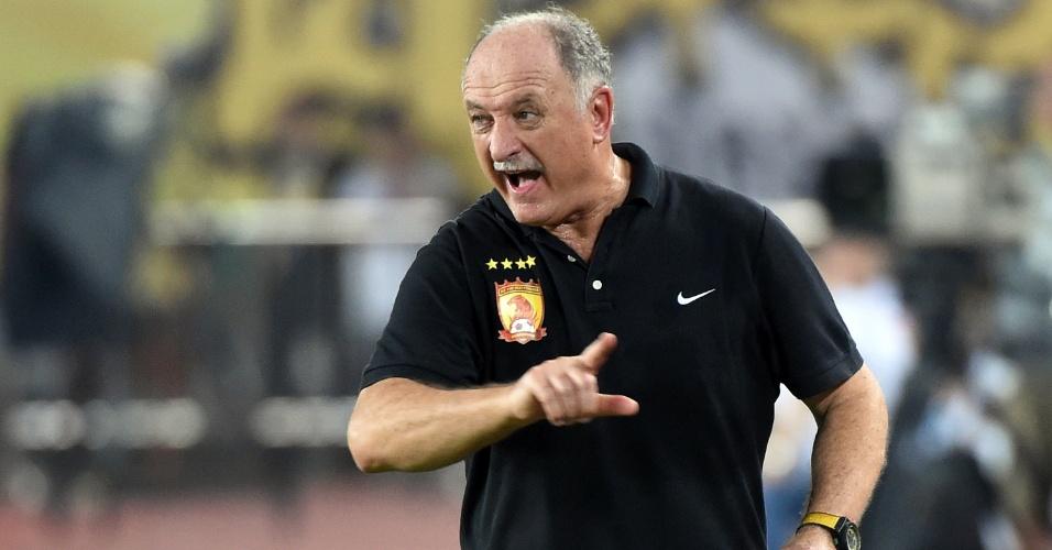 Luiz Felipe Scolari no comando do Guangzhou Evergrande