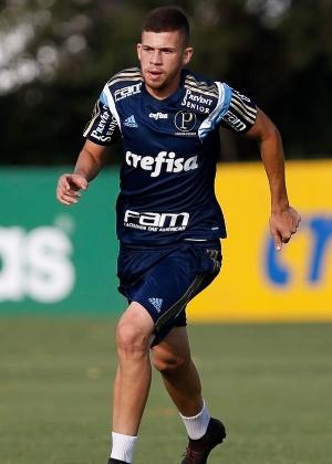 Jobson disputou apenas uma partida com a camisa do Palmeiras