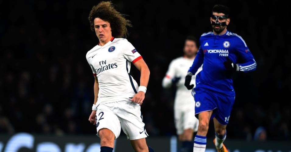 David Luiz e Diego Costa se enfrentam novamente em Chelsea x PSG