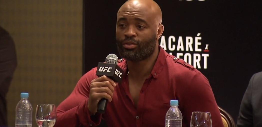 Anderson Silva fala sobre o MMA 198, na Arena da Baixada