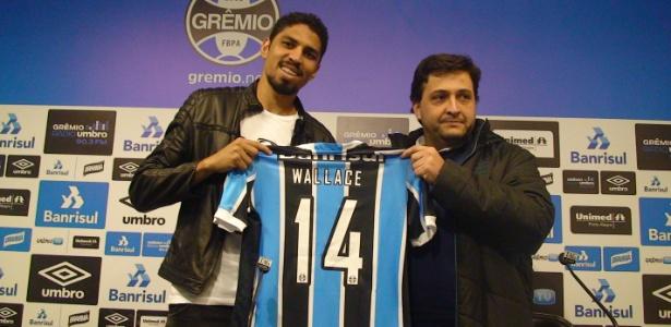Wallace já jogou Copa do Brasil pelo Flamengo e não pode atuar pelo Grêmio na competição