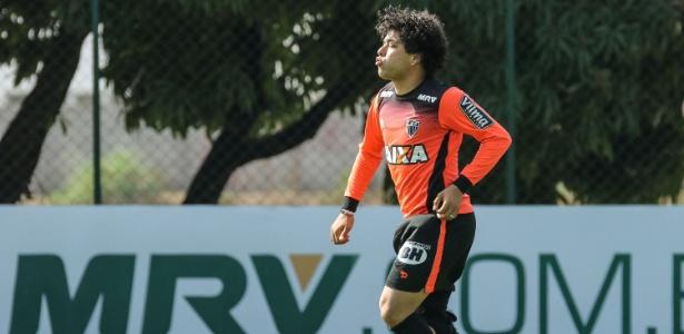 Luan, meia-atacante do Atlético-MG, está liberado para enfrentar o Grêmio