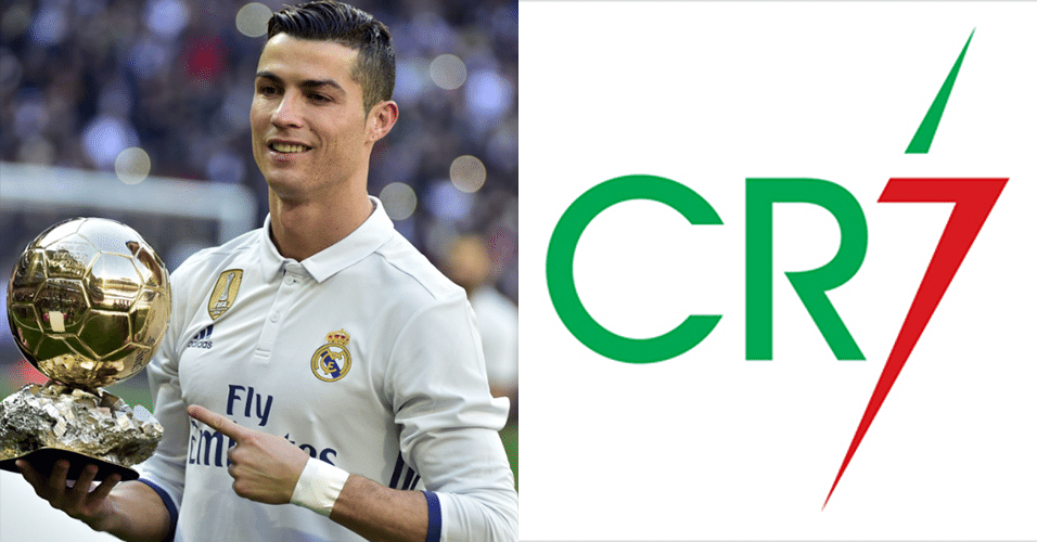 Logomarca do Cristiano Ronaldo