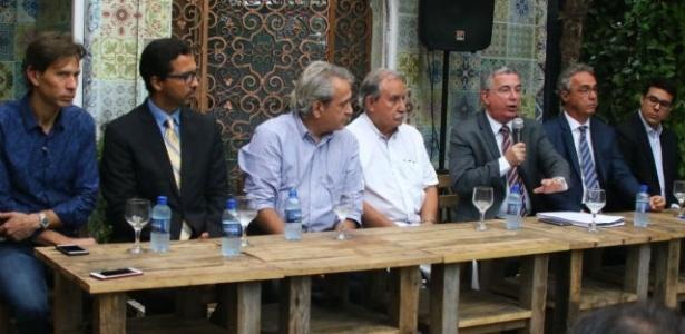 Dirigentes de Sport e Náutico explicaram ruptura com a Liga do Nordeste - Williams Aguiar/Sport