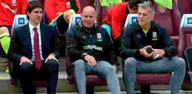 Percovich em ação pelo Middlesbrough - Divulgação/Middlesbrough - Divulgação/Middlesbrough
