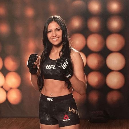 Polyana Viana, lutadora do UFC - Reprodução/Instagram
