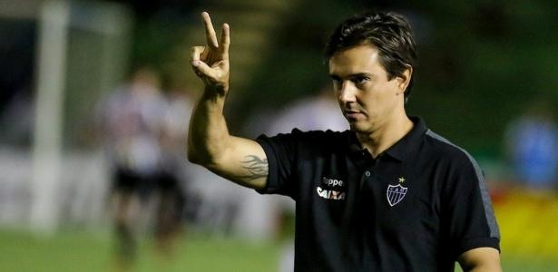 Thiago Larghi completa um mês no comando do Atlético-MG e tem 62% de aproveitamento