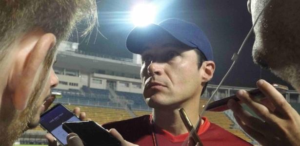 Alexander Medina, técnico do Nacional, não confirmou a escalação para a partida