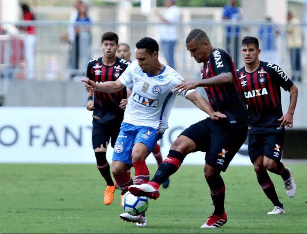 Atlético tem melhor campanha da Sul-Americana, mas não vence fora de casa no Brasil - Felipe Oliveira/Bahia Esporte Clube