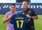 Osvaldo deixa o Fortaleza e assina com time da Tailândia até o fim de 2019 (Foto: Divulgação/Buriram United)