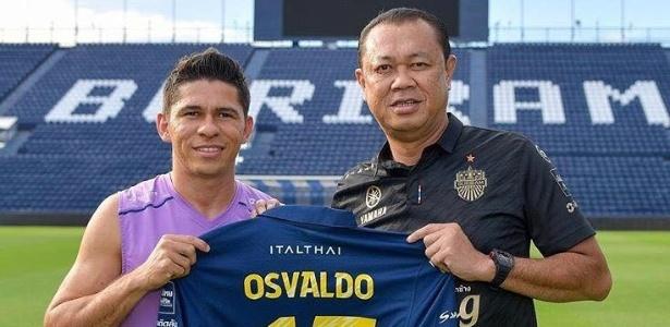 Osvaldo defenderá o atual líder do Campeonato Tailandês