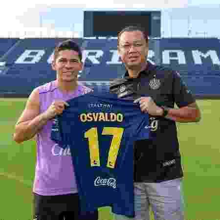 Osvaldo estava no Buriram, da Tailândia - Divulgação/Buriram United