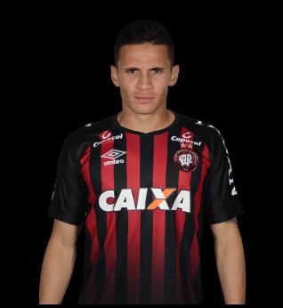 Raphael Veiga, meia do Atlético-PR