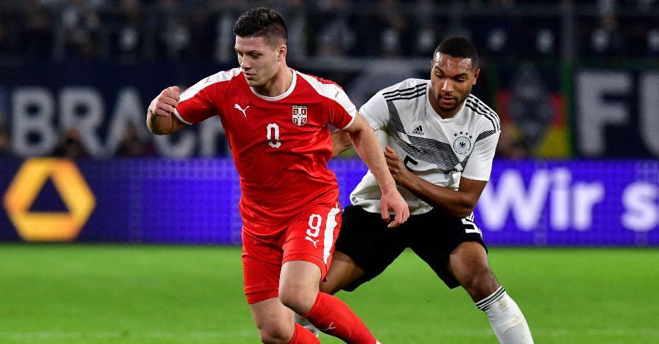 Luka Jovic Sérvia Alemanha