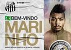 """Santos anuncia Marinho usando meme histórico: """"É mesmo? Sabia não"""" - Reprodução"""