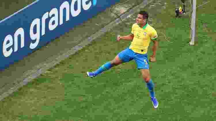 Casemiro seleção brasileira - Amanda Perobelli/Reuters - Amanda Perobelli/Reuters