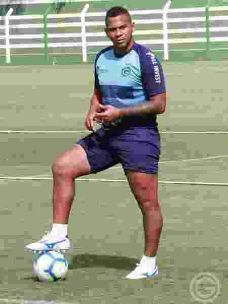 Walter, atacante do Goiás, durante treinamento - Divulgação/Goiás Esporte Clube