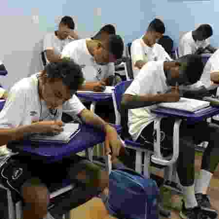 Alunos do Colégio Vasco da Gama estão sem aulas por conta da greve dos professores - Carlos Gregório Júnior / Site oficial do Vasco