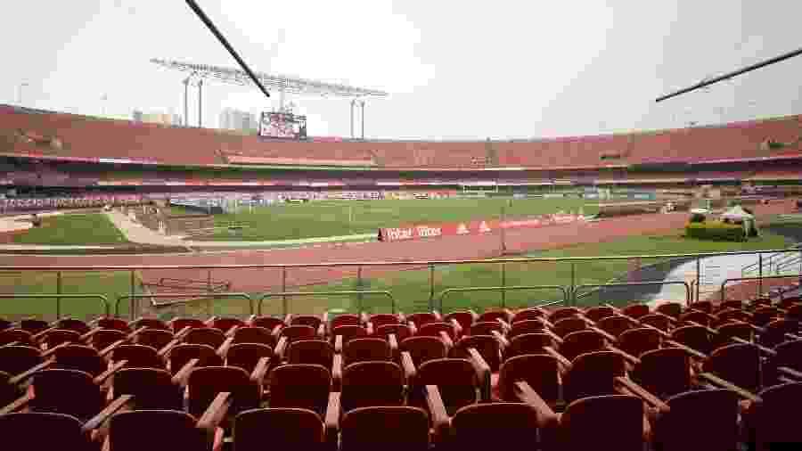 Estádio do Morumbi - Bruno Ulivieri/AGIF