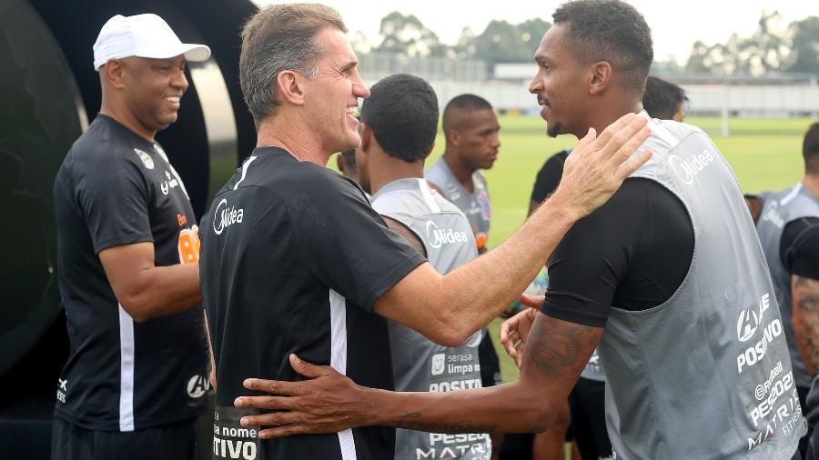 Mancini está mais próximo do elenco do Corinthians do que seus antecessores Tiago Nunes e Dyego Coelho - Rodrigo Coca/Agência Corinthians