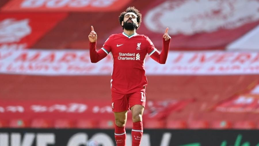 Mohamed Salah poderia substituir Mbappé no PSG - Laurence Griffiths/Getty Images