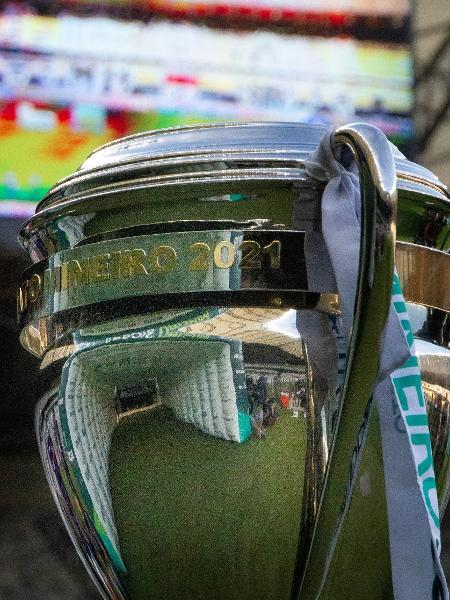 Taça do Campeonato Mineiro 2021 antes de Atlético-MG x América-MG  - Fernando Moreno/AGIF