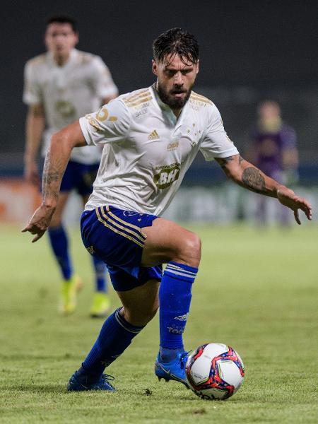 Experiente e uma das liderança do elenco, Rafael Sóbis defendeu o pressionado técnico Mozart - Gustavo Aleixo/Cruzeiro