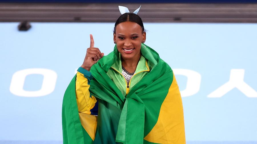 Rebeca Andrade é ouro no salto - Maja Hitij/Getty Images