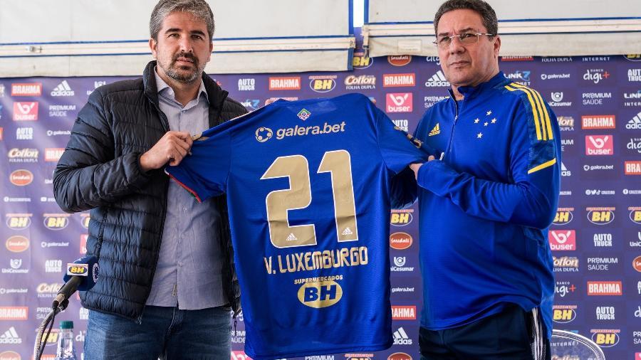 Luxemburgo volta ao Cruzeiro para sua terceira passagem no comando técnico da Raposa - Gustavo Aleixo/Cruzeiro