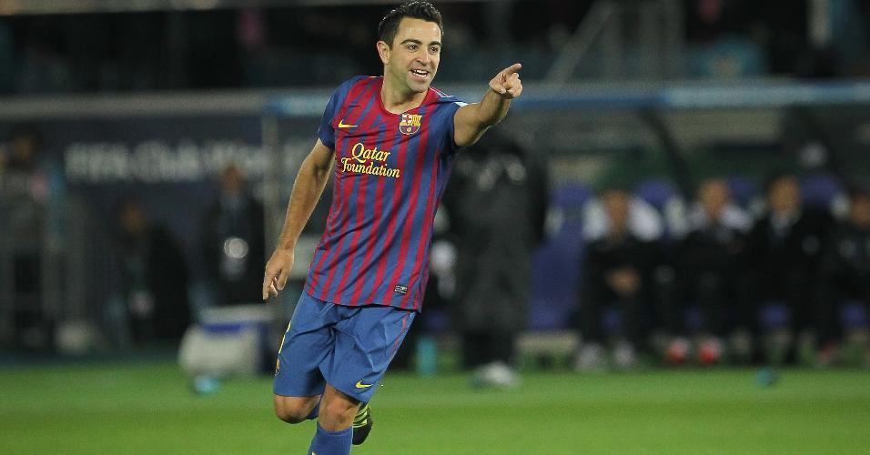 Xavi foi o terceiro colocado na Bola de Ouro de 2011