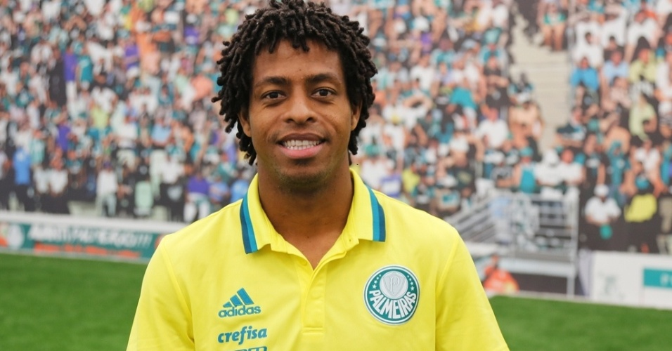 Keno Palmeiras uniforme anúncio