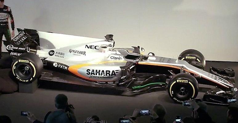 Novo carro da Force India para a temporada 2017