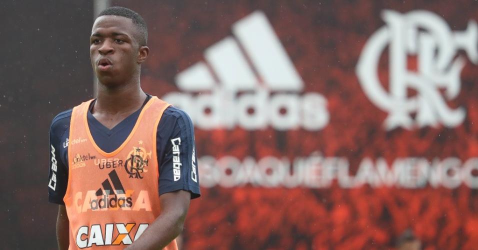 O jovem atacante Vinicius Júnior virou sinônimo de milhões nos cofres do Flamengo