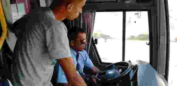 Motorista de ônibus do Angra dos Reis E.C.levou o time para o estádio errado - Divulgação/Twitter