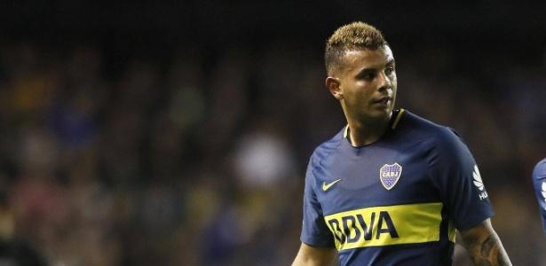 Edwin Cardona, camisa 10 do Boca, se viu envolvido em um escândalo na Argentina