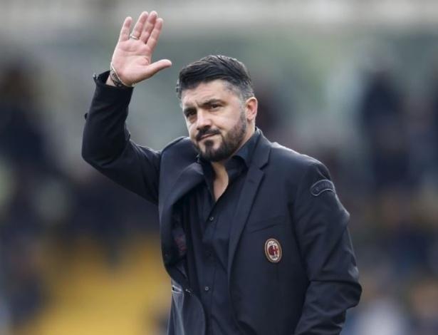 Gattuso teve menos de uma semana antes de sua estreia no Milan