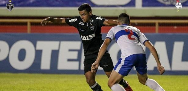 Atacante Erik fez o gol do Atlético-MG ainda no primeiro tempo de jogo