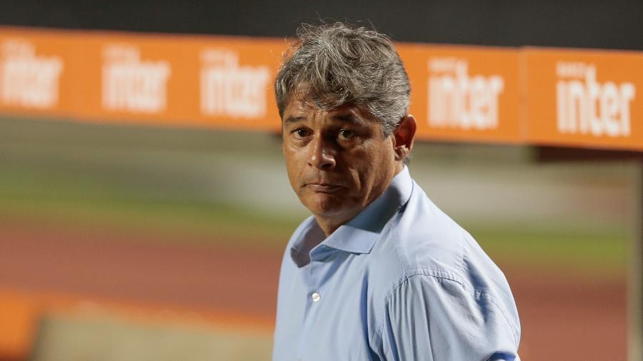Marcelo Veiga foi técnico do RB Bragantino - Marcello Zambrana/AGIF