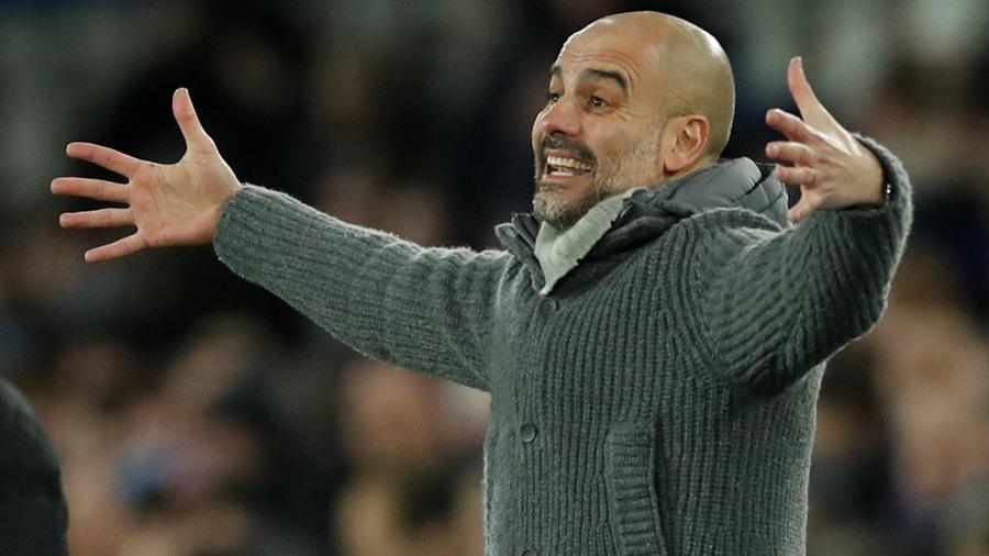 Pep Guardiola Manchester City Everton Campeonato Inglês - Carl Recine/Reuters