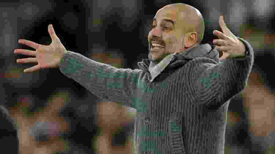Pep Guardiola Manchester City Everton Campeonato Inglês - Carl Recine/Reuters