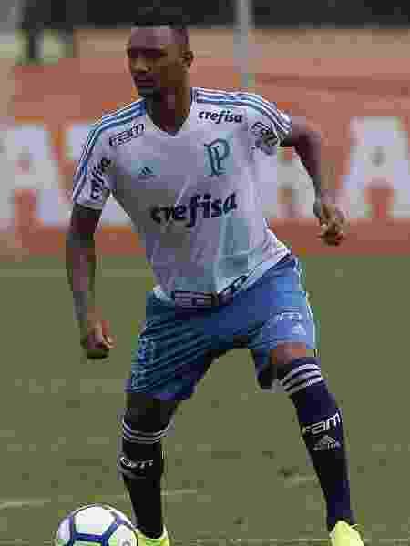 Luan Cândido é um dos destaques das categorias de base do Palmeiras - Cesar Greco/Ag. Palmeiras/Divulgação - Cesar Greco/Ag. Palmeiras/Divulgação