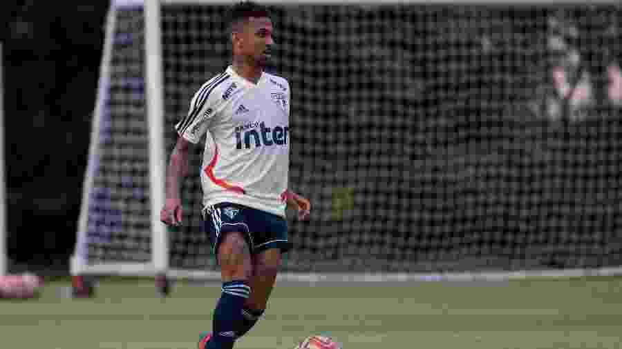 Jogador foi contratado no fim de dezembro e só disputou três partidas pelo Tricolor - Marcello Zambrana/AGIF