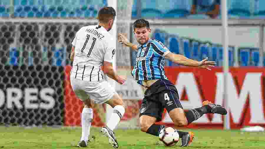 Grêmio e Libertad estavam no mesmo grupo e venceram jogos fora de casa na fase anterior - Lucas Uebel/Grêmio