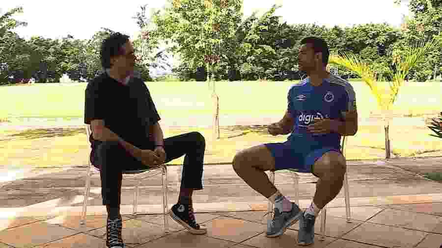 Casagrande e Fred gravaram para o quadro Casão FC, do Esporte Espetacular - Divulgação/TV Globo