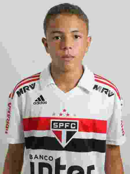 Thierry Henry, atacante do sub-13 do São Paulo - saopaulofc.net - saopaulofc.net